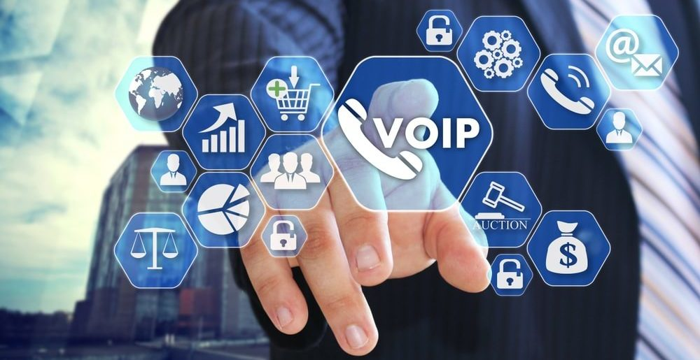 VoIP solutions, Hosted VoIP