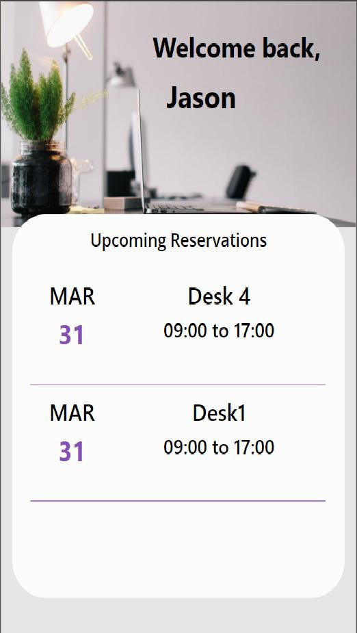 Desk & Room Booking App